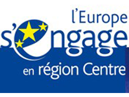 Logo Europe en Region Centre